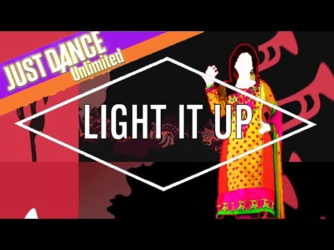 Just Dance Unlimited  - Light It Up by Major Lazer ft. NYLA & FUSE ODG (Remix) - Fanmade Mashup.