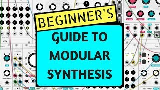 How To Make A Syฑth Patch - Beginner Tutorial on Modular Synthesis using VCV RACK (FREE SOFTWARE)