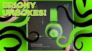 Razer Kraken Gaming Headset (2019) - BRIONY UNBOXES THE KRAKEN!