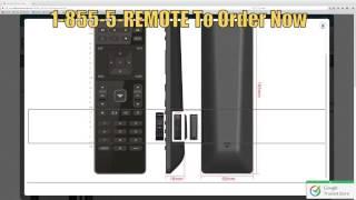 VIZIO XRT122 Smart TV Remote Control - www.ReplacementRemotes.com