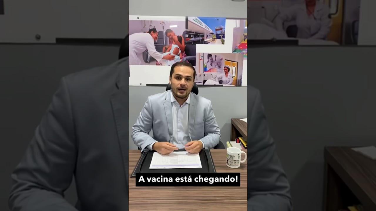 """""""Vacina está cada dia mais próxima de chegar a Alagoas"""", diz Secretário de Saúde, Alexandre Ayres"""