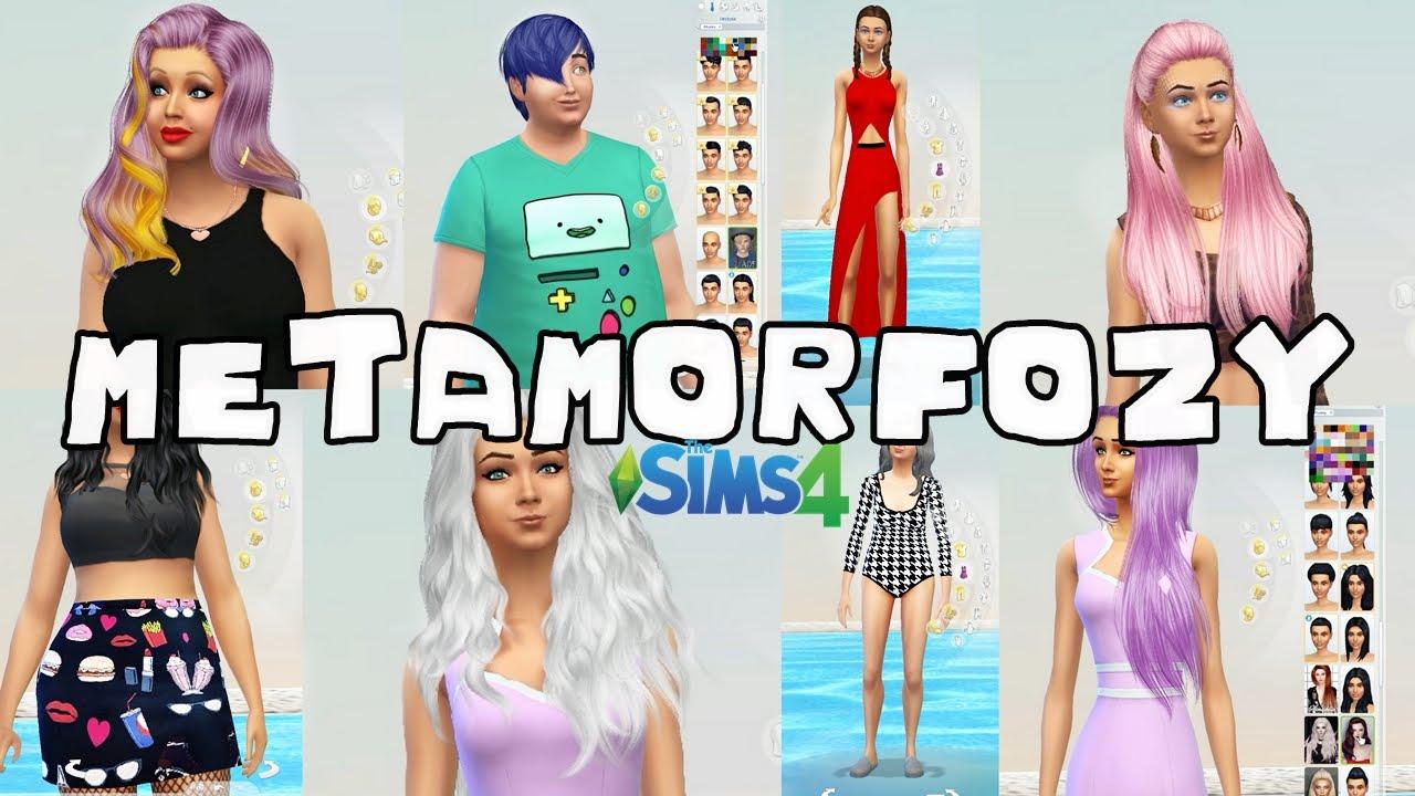 56 The Sims 4 Dodatki Do The Sims 4 Fryzury Ubrania Makijaż