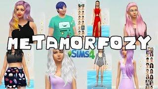 #56 The Sims 4 - Dodatki do The Sims 4: Fryzury, ubrania, makijaż!