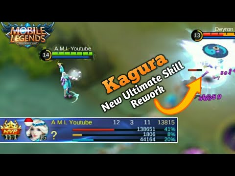 KAGURA Ultimate Skill REWORK is She OP AGAIN? | Gameplay and Build - Mobile Legends