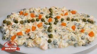 Meşhur Rus Salatası Tarifi