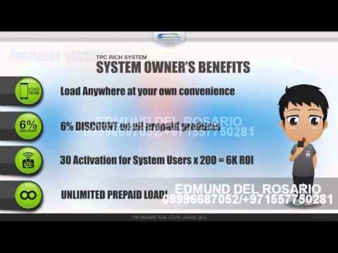 EDMUND DEL ROSARIO tpc business video