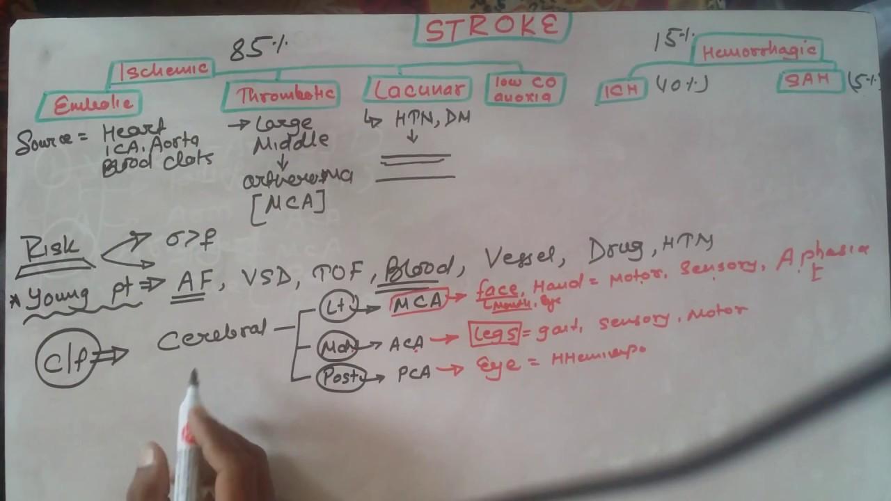 stroke complete lecture