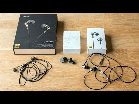 1MORE Triple Driver, KZ ZS6, Mi In-Ear Pro HD - low budget earphones tested