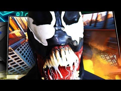 VENOM PLAYS VIDEO GAMES?! | MSI x Venom Unboxing #MSIxVenom #Venom