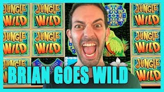 Brian Goes🤪WILD @ 🦁🌴Jungle Wild 👀 Looking For RED SCREENS🔍Choctaw Casino ✦ BCSlots