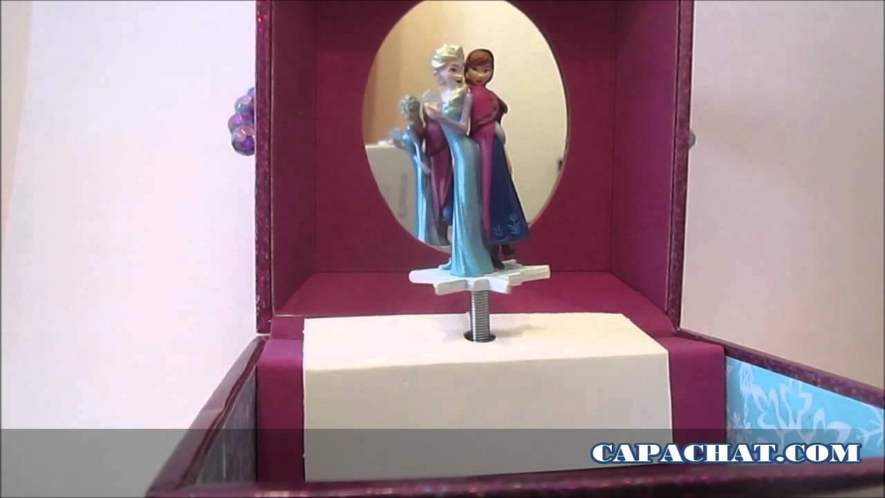 Bo te bijoux musicale la reine des neiges avec figurine elsa et anna let it go frozen youtube - Boite a bijoux reine des neiges ...