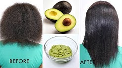 YOUR HAIR WILL GROW LIKE CRAZY AFTER THIS!!! AVOCADO HAIR MASK (GROW LONG HEALTHY HAIR FAST)!