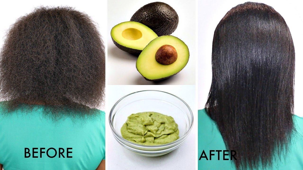 How to make avocado hair treatment