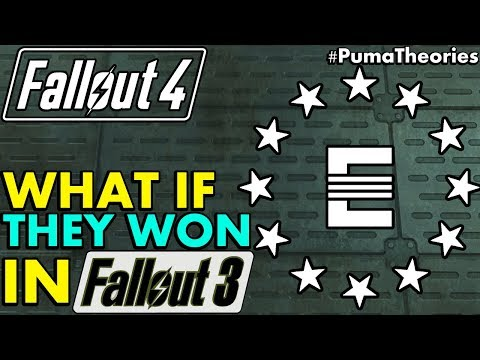 Fallout 4 Theory: What if the Enclave Won for Fallout 3's Ending (Lore and Theory) #PumaTheories