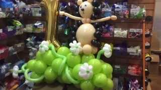 Ежик из шаров - воздушные шары на детский праздник.(, 2015-07-21T11:26:27.000Z)