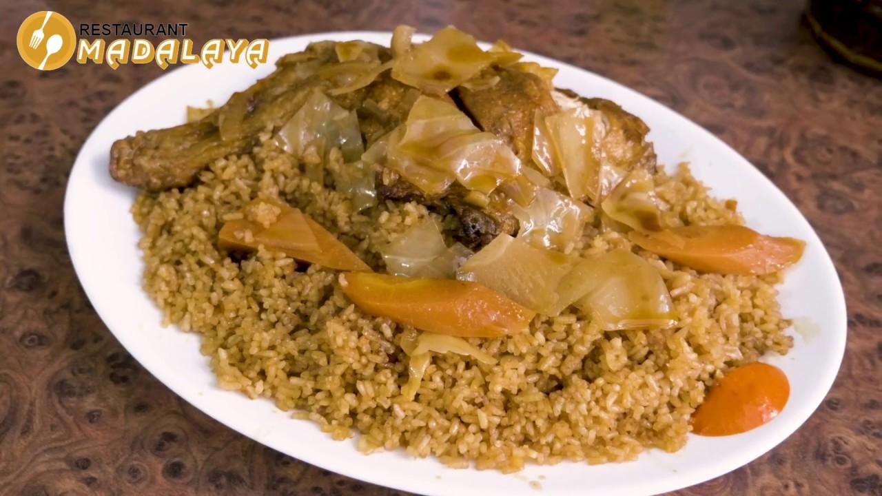 Restaurant Africain Madalaya Youtube