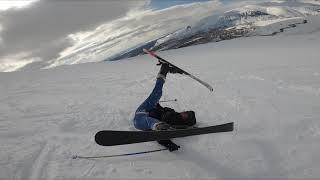 BigWood Kirovsk ski resort Как не нужно кататься на горных лыжах