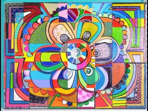 Como Pintar Un Mandala Con Tecnicas Mixtas Youtube - Pinturas-de-mandalas