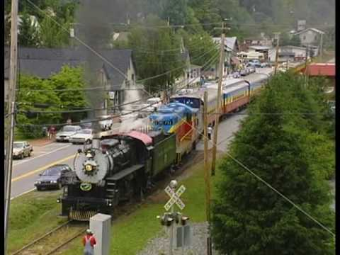 Model Railroad Toy Train Scenery -Great Smoky Mountains Railroad (Part 1)