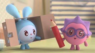Малышарики - Развивающие мультики для маленьких от года - Робот (57 серия)