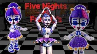 Custom FNAF Ballora Doll Twilight Sparkle Equestria Girls Mini - Five Nights at Freddy's Toy