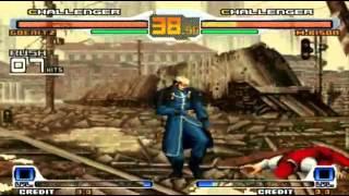 SVC Chaos SNK Vs Capcom - All Special Moves