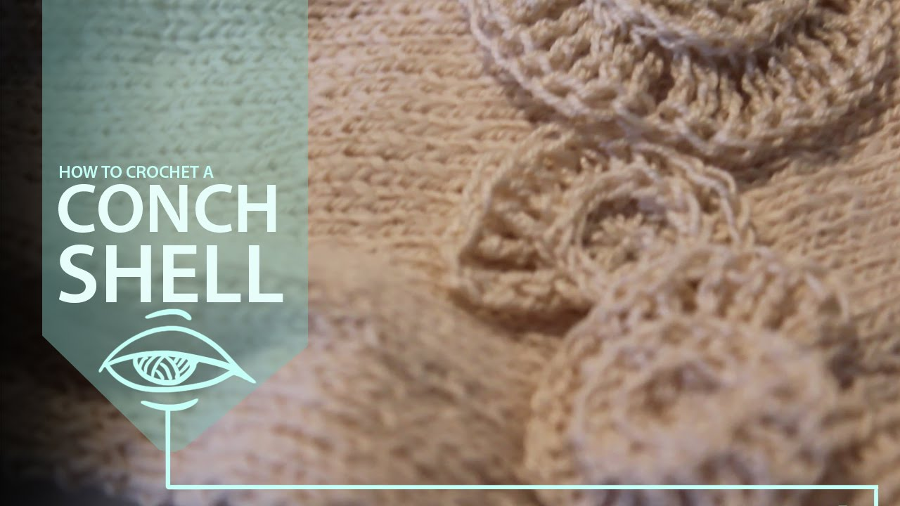 How to crochet a conch shell short tutorial for an appliqu how to crochet a conch shell short tutorial for an appliqu youtube bankloansurffo Image collections