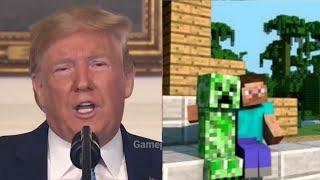 "Trump: ""Video Games cause Violence"" (Meme)"