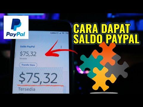 CARA DAPAT SALDO PayPal Dari GAME Terbaru Penghasil Dollar | #DirumahAja