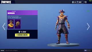Fortnite Hay Man - Straw Ops/Heumann - Strohagentin NEW Skin 1500 Vbucks 07.10.2018