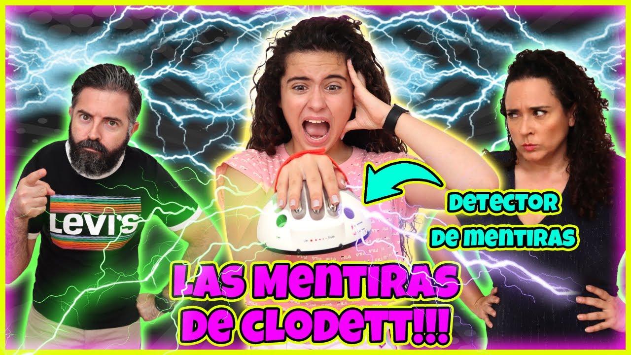 Las MENTIRAS DE CLODETT!! DETECTOR de MENTIRAS CHALLENGE!! PREGUNTAS INCÓMODAS a NUESTRA HIJA!!!