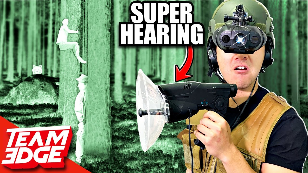 I Used Spy Gear to CHEAT in Hide and Seek!!