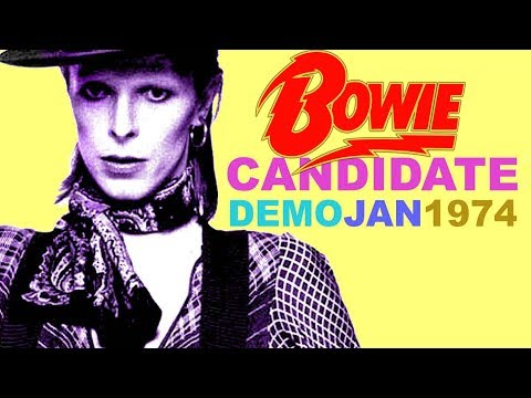 David Bowie 'Candidate' demo version