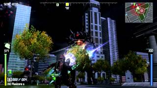 Action Packed Trip to New Detroit (Earth Defense Force: Insect Armageddon)