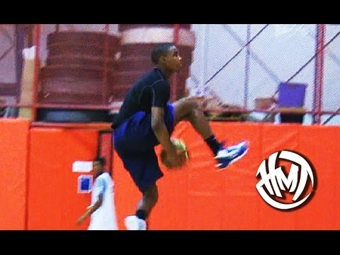 14 Year Old Seventh Woods Is An INSANE Athlete! 6'2 Explosive PG!