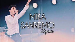 MIKA - Sanremo Lyrics