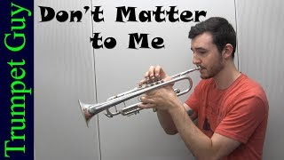 Drake - Dont Matter to Me (Trumpet Cover) ft. Michael Jackson