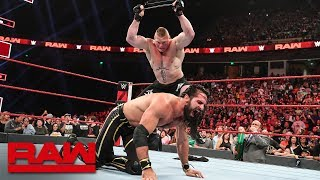 Download Brock Lesnar viciously mauls Seth Rollins: Raw, June 3, 2019 Mp3 and Videos