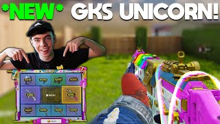 *NEW* GKS UNICORN SKIN is AMAZING in COD Mobile! (Legendary Death Effect)