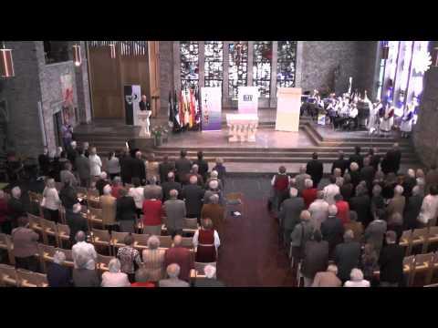 Deutschlandlied in der Marienkirche zu Düren - Tag der Heimat 2014