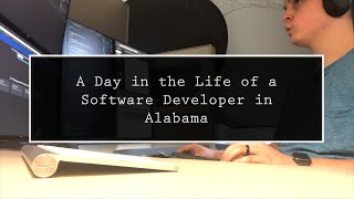 A Day in the Life of a Software Developer in Alabama