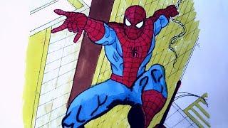 Örümcek Adam - Boyama 3