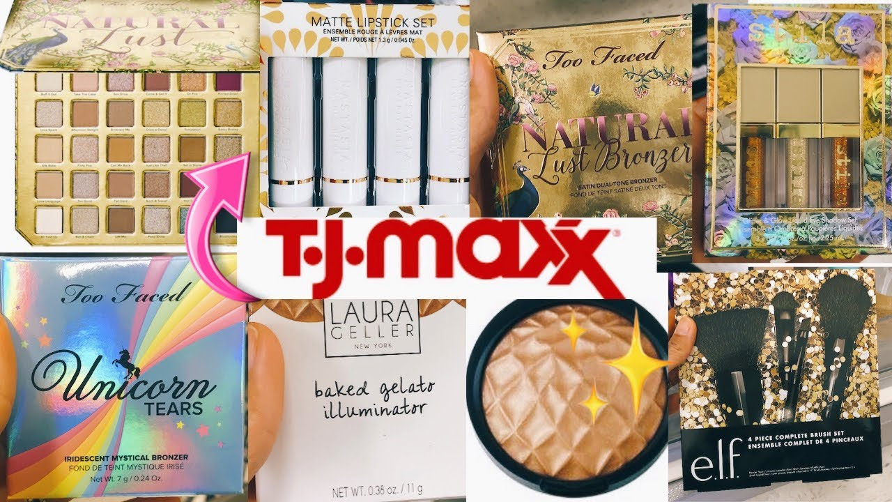 NEW MAKEUP AT TJ MAXX!! TJ MAXX JACKPOT!! HOLIDAY JACKPOT