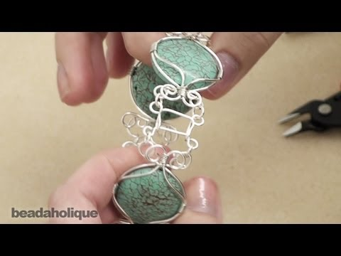 How to Make a Hook and Bar Clasp with Craft Wire