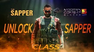 m c 5 sapper class unlocked aaw 1 weapons multiplayer