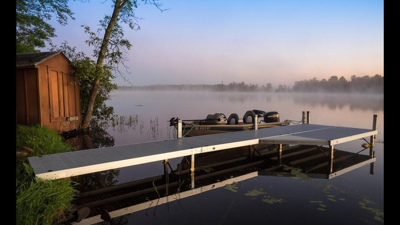Customize Your Shoreline With Aluminum Stationery Docks | FLOE