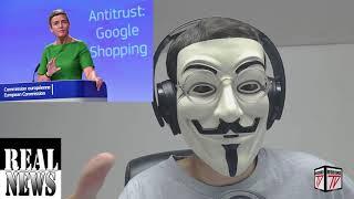 EXCLUSIVA: Los iluminatis Europeos MULTAN a Google con 5 Mil Millones de Dolares