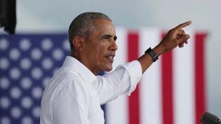 Former President Obama campaigns for Biden in Orlando, FL