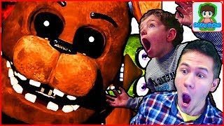 Страшный МИШКА в игре 5 Ночей с Фредди от Фаника Five Nights at Freddy s