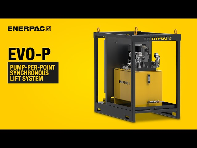 Pump-Per-Point Synchronous Lift System - EVO-P | Enerpac